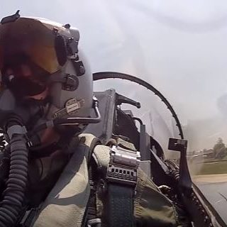 F-16 Dropping Bombs