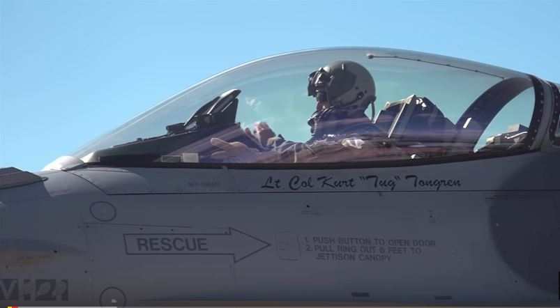 F 16 Falcon 1 - Watch The Colorado Air National Guard Take Off For Japan