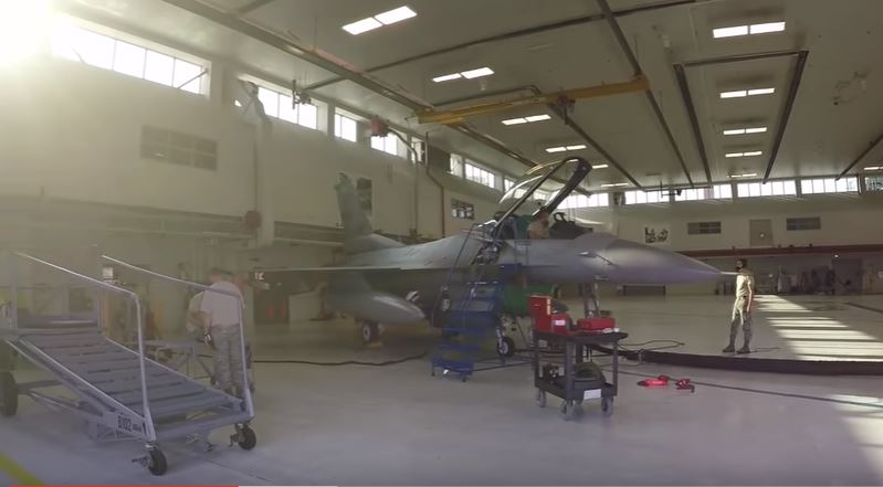 F 16 Falcon 2 - Watch the Ohio Air National Guard 180th Fighter Wing prepare for F-16 Fighting Falcon flight operations