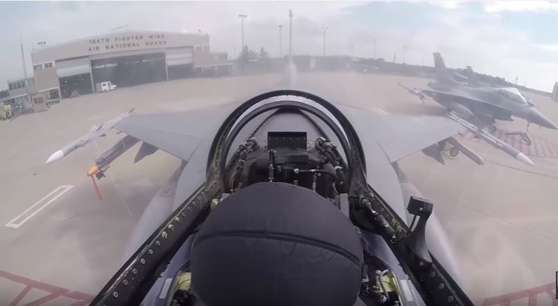 Watch the Ohio Air National Guard 180th Fighter Wing prepare for F-16 Fighting Falcon flight operations Featured