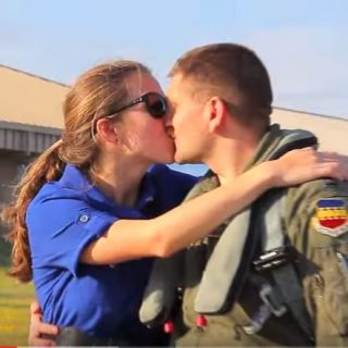 F-16 Pilots Homecoming