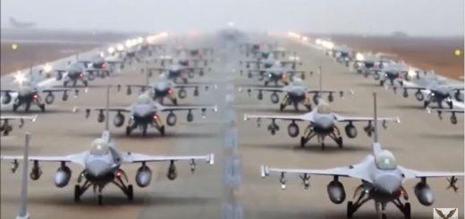 F-16 Vs F-35 Dogfight