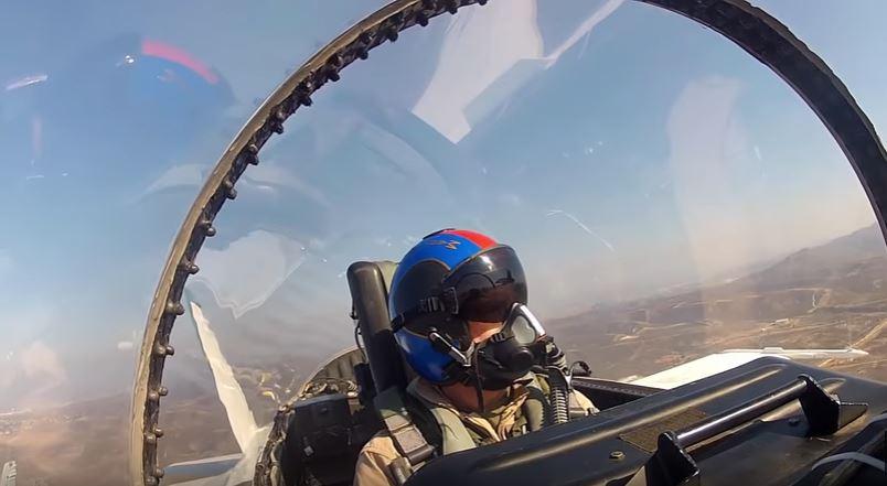 (VIDEO) Pilot Cockpit Camera Inside USMC F/A-18 Fighter Jets Featured