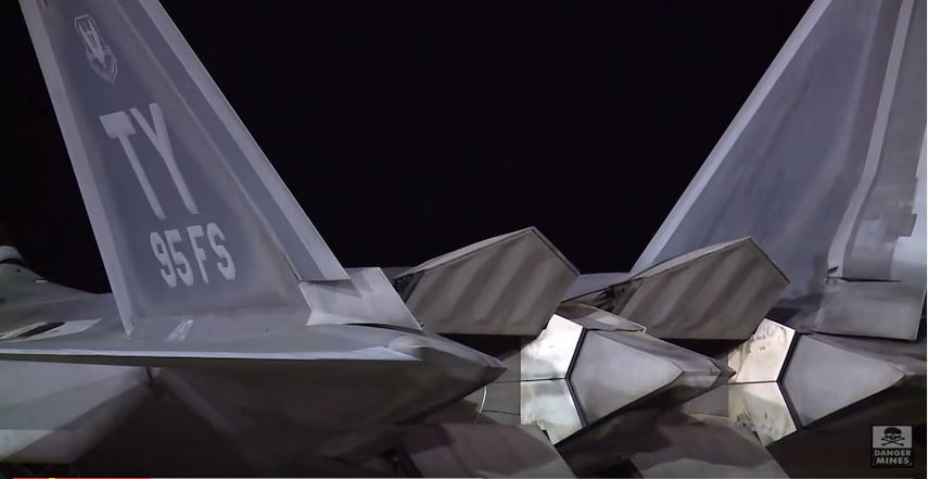 F-22 Raptor Deployments