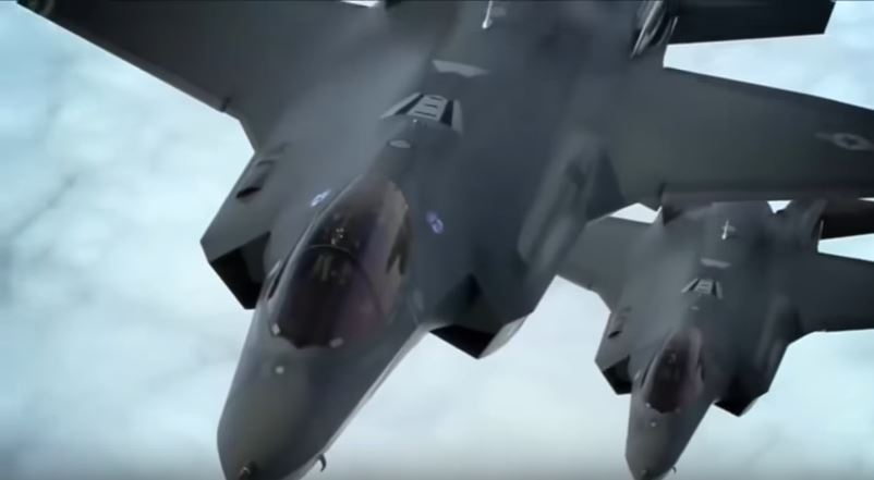 F 35 Comeback 2 1 - (VIDEO) U.S. Air Force F-35A Lightning II Joint Strike Fighters Arrive In England