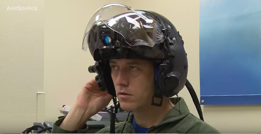 F-35 Gen III Helmet Mounted Display System (HMDS).