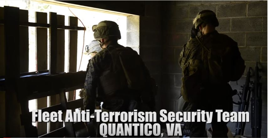 Fleet Anti-Terrorism Security Team Conducts Weeklong Training Exercise At Marine Corps Base Quantico In Preparation Of Future Deployment Featured