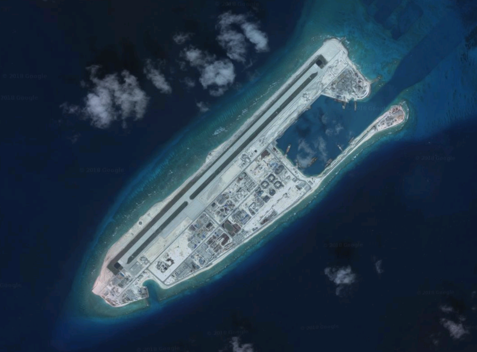 Chinese maritime militia on the move in disputed Spratly Islands