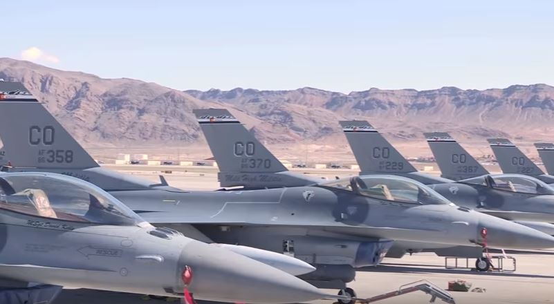Fighter Jets During Red Flag 17 2 - (VIDEO) Watch Jet Crews Conduct Aerial War Game Exercises In Nevada