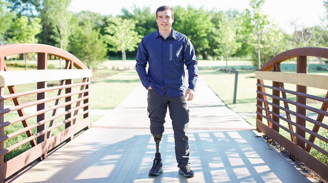 'People give limbs so we stay free:' Green Beret amputee vet describes Purple Heart's meaning