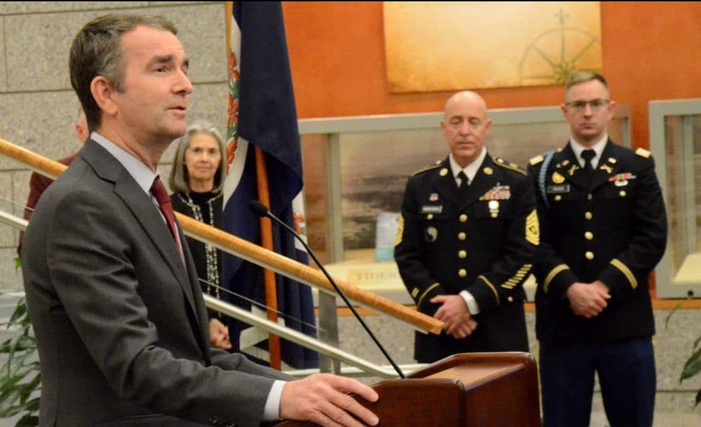 Congressman suggests military enforcement of new VA gun laws; Gov. promises 'consequences'