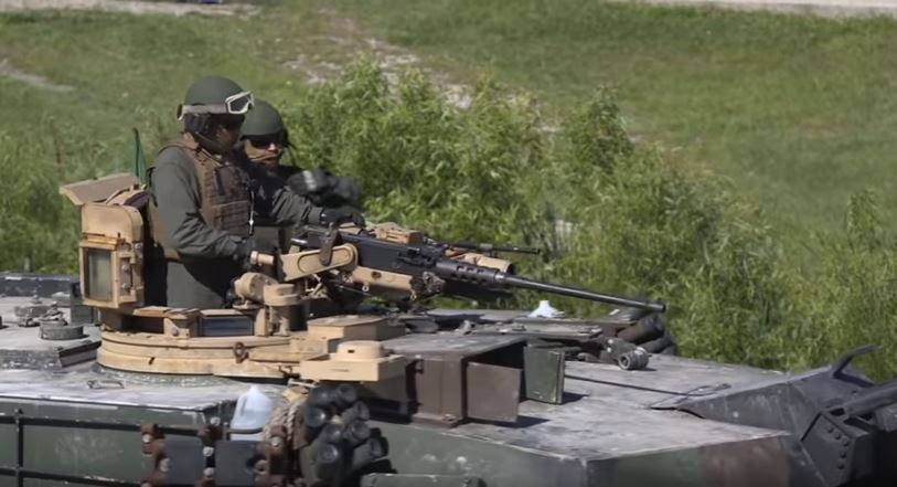 Gunnery Action - Tank gunnery competition footage sends a message of US military power like no other