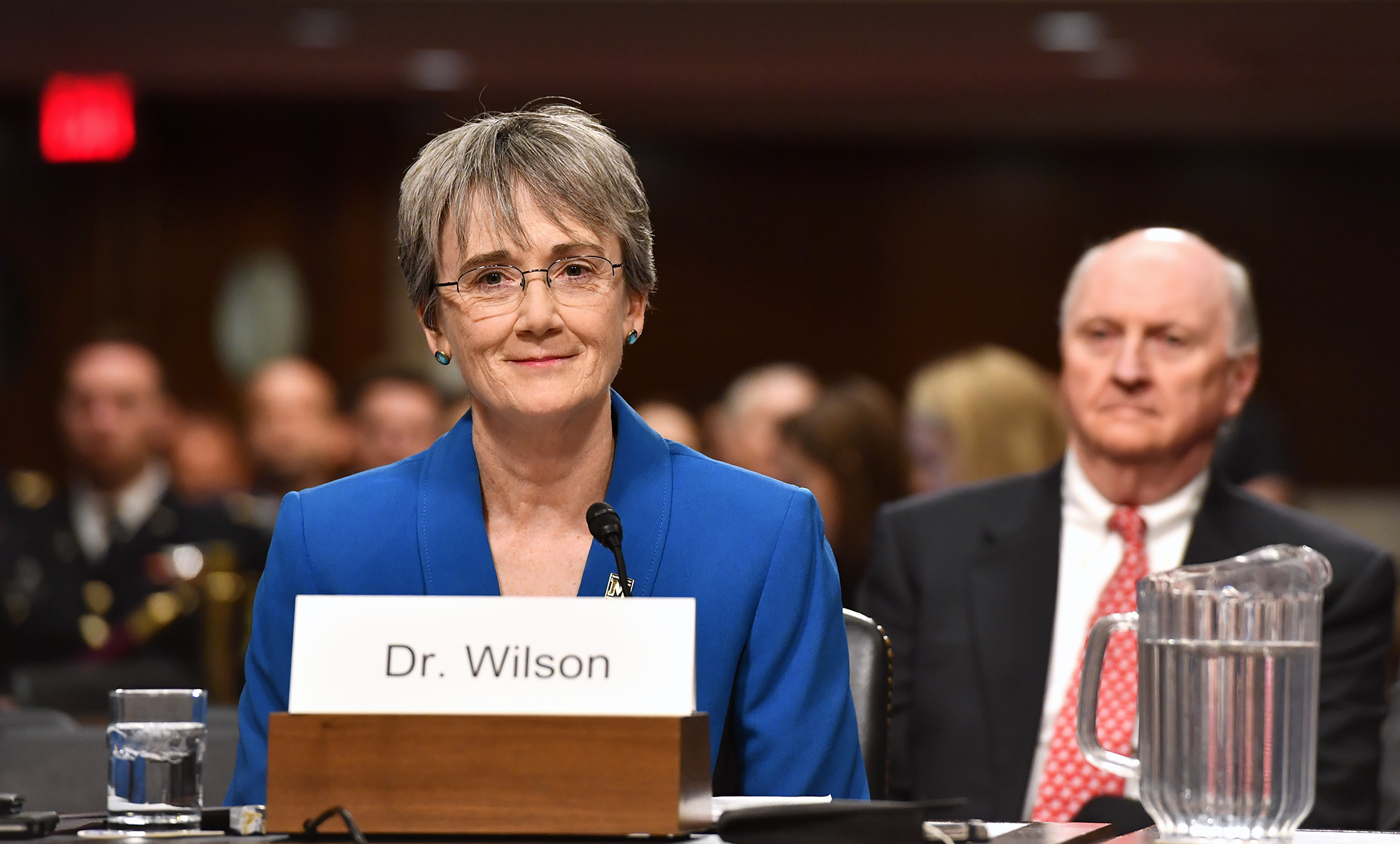 Heather Wilson Air Force Secy - Senate Confirms Trump's Pick For Air Force Secretary