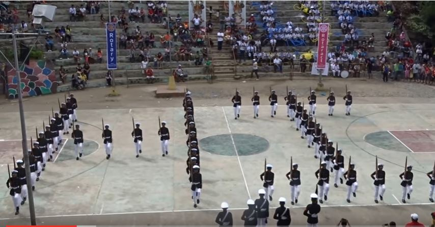 (VIDEO) Watch This Impressive High School Category Silent Drill Competition Championship Featured