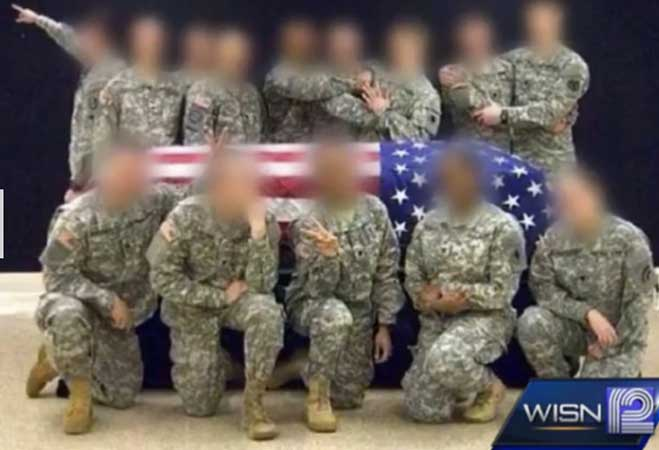 Honor Guard Photo Sparks Outrage Featured