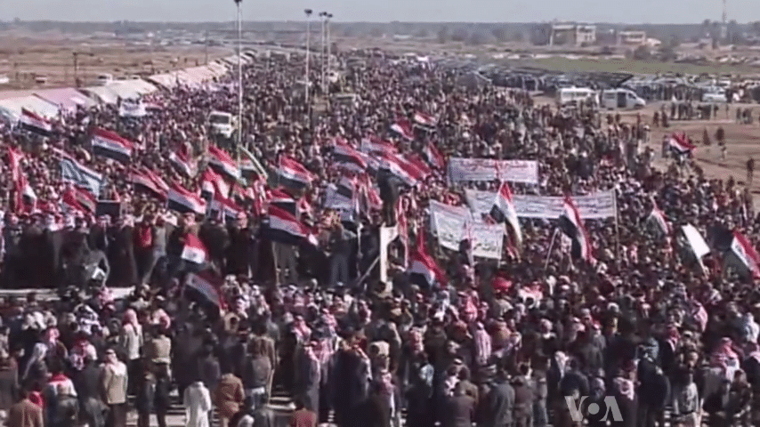 Iraqi authorities: more than 100 killed, thousands wounded in protests