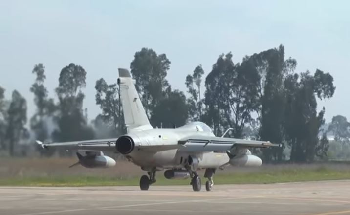 Italian AMX Fighter Bomber 1 - Check Out Italian Air Force AMX Fighter-Bombers During An Air Exercise In Greece