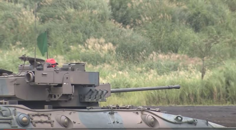 Japan Ground Self-Defense Force Puts On A Firepower Demonstration To Showcase Its Military Might Featured