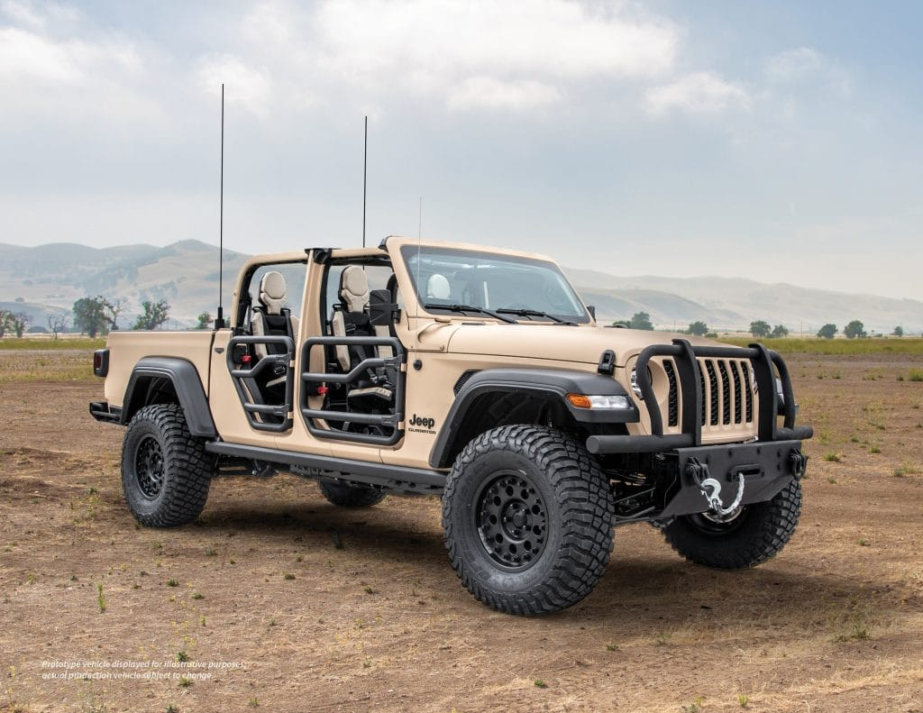VIDEO: AM General partners with Jeep to produce military concept vehicle