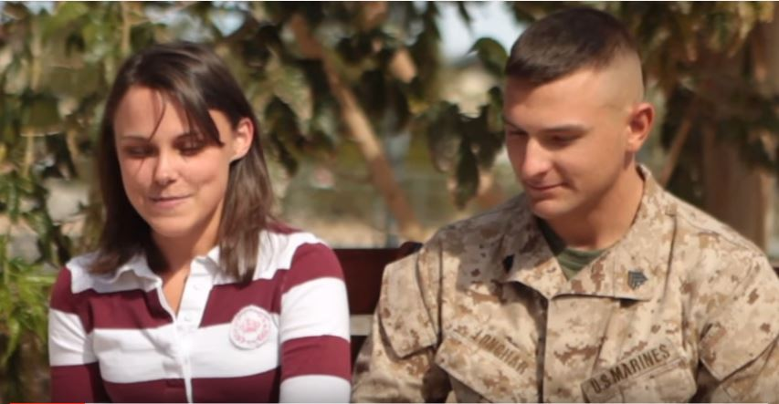 The Heartwarming Story Of A Homecoming Engagement After A Tough Deployment To Afghanistan Featured