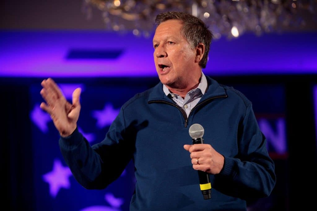 Former Ohio governor John Kasich says House should impeach Trump for abuse of power