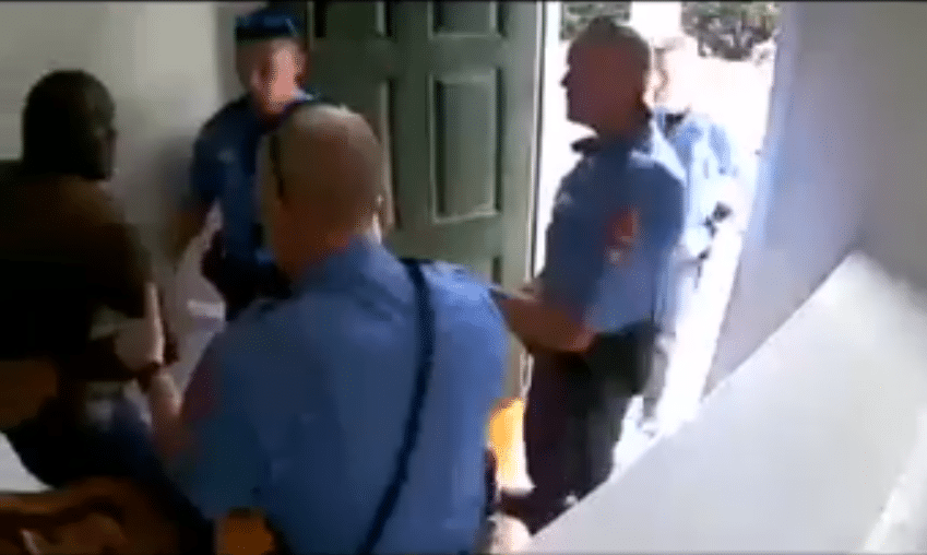 Video of police drawing gun, handcuffing man in his own home over false alarm goes nationwide