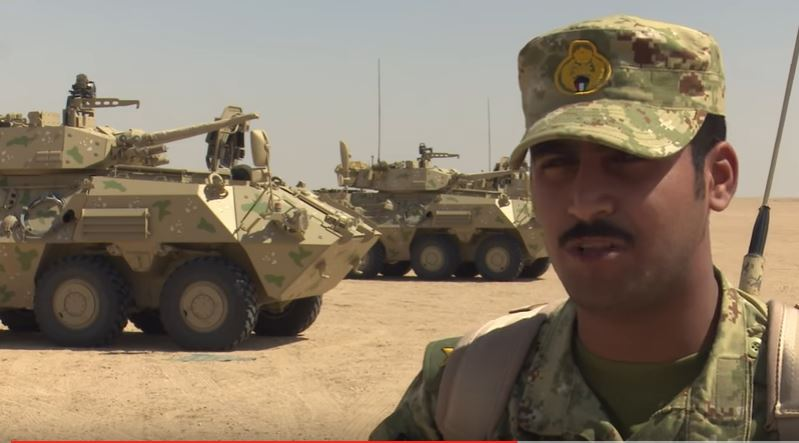 Kuwait Troops During Desert Warrior - (VIDEO) Watch British Troops Join With Kuwaiti Forces In Exercise Desert Warrior