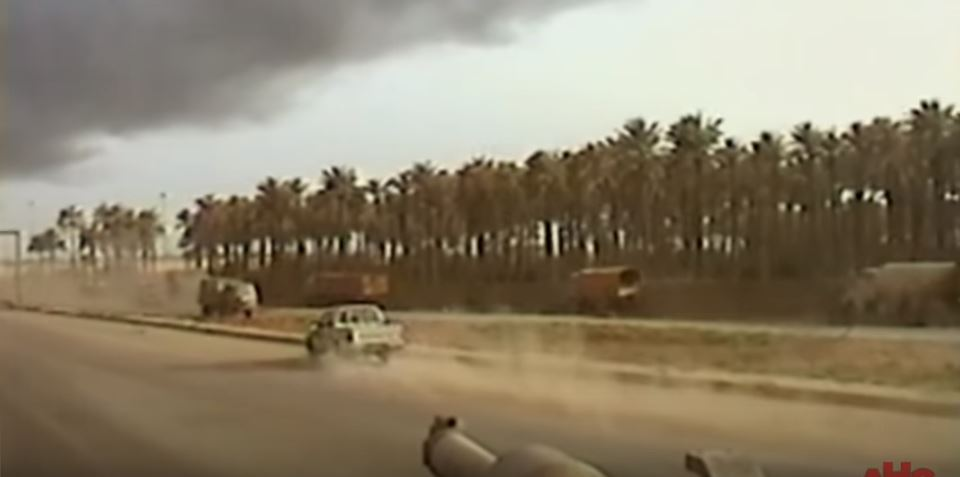 Watch unstoppable US Military tanks liquefy suicide bombers in Baghdad Featured