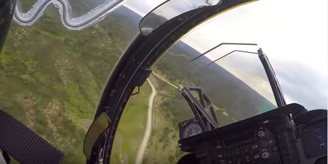 Low Altitude Cockpit View - See These Stunningly High Quality Videos Taken From Inside The Cockpit Of A Fighter Jet