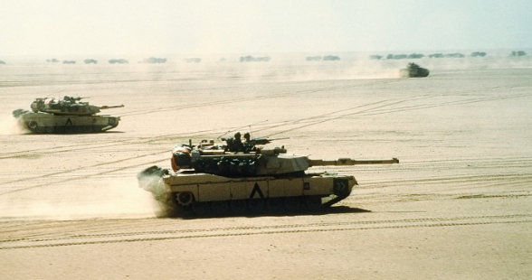 This Day In History: The Gulf War Ground Offensive Begins Featured