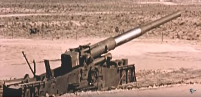 (WATCH) A Look At The Most Powerful Gun Ever Fired – The M65 Atomic Cannon Featured