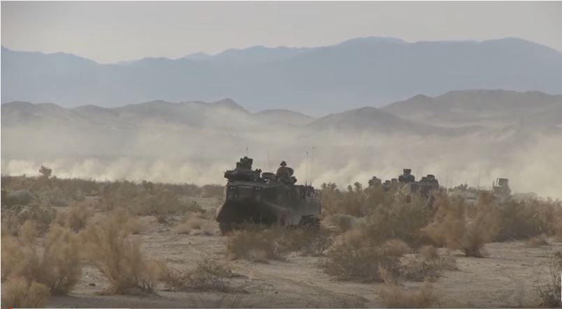 (VIDEO) Check Out A U.S. Marine Regiment Conduct Mechanized Assault Course During Integrated Training Exercise Featured