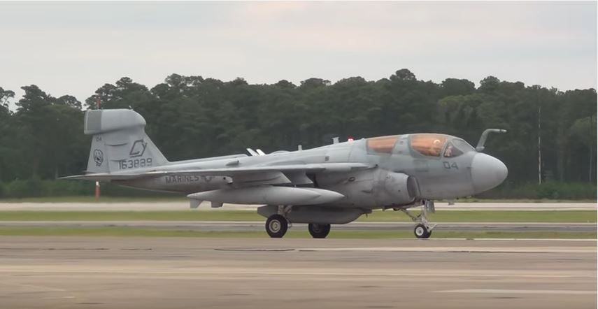 Watch An Awesome U.S. Marine Corps EA-6B Prowler Air-Ground Task Force Demonstration Featured