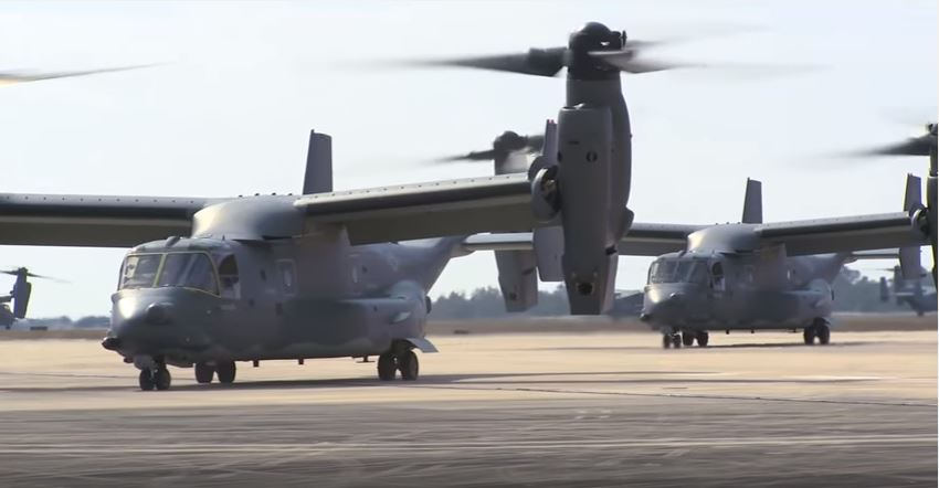 3 US Marines missing after MV-22 'mishap' off coast of Australia Featured