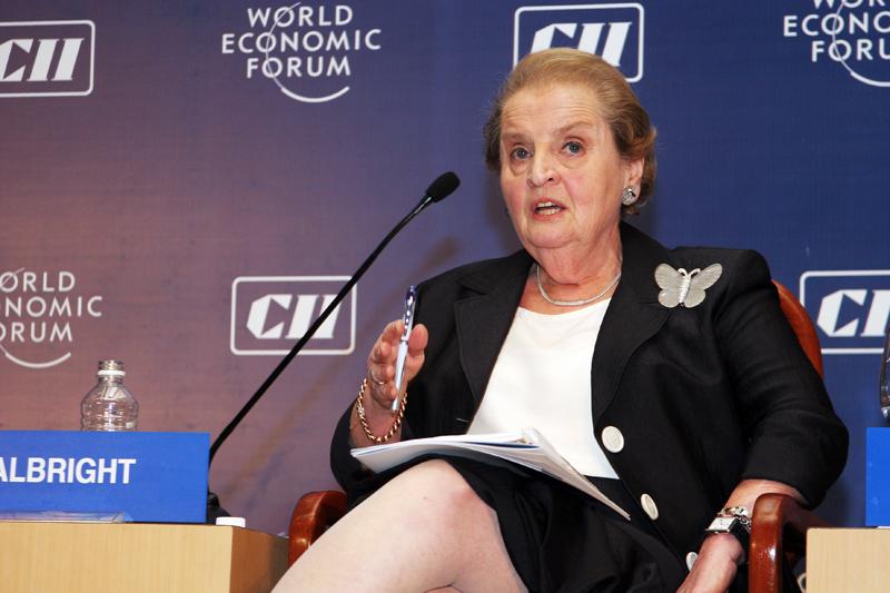 Madeleine Albright, Former Secretary of State