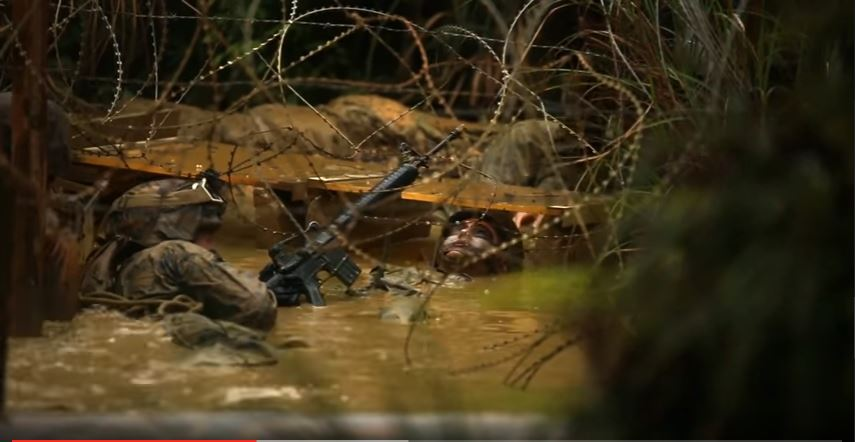 (VIDEO)  Marine Corps Jungle Warfare Training Challenges Participants In A Dense Jungle Environment Featured