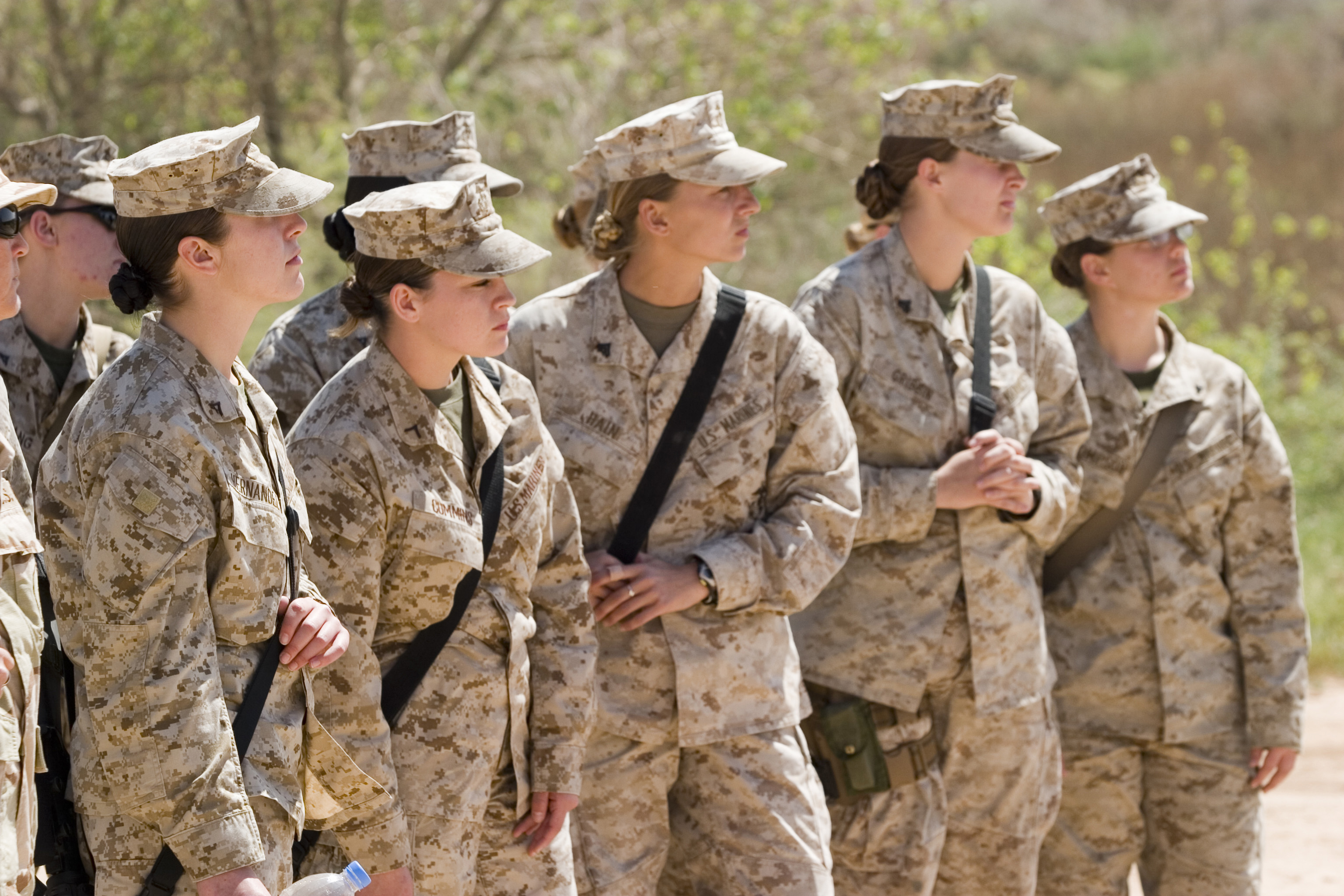 Women Prepare For Marine Combat Featured