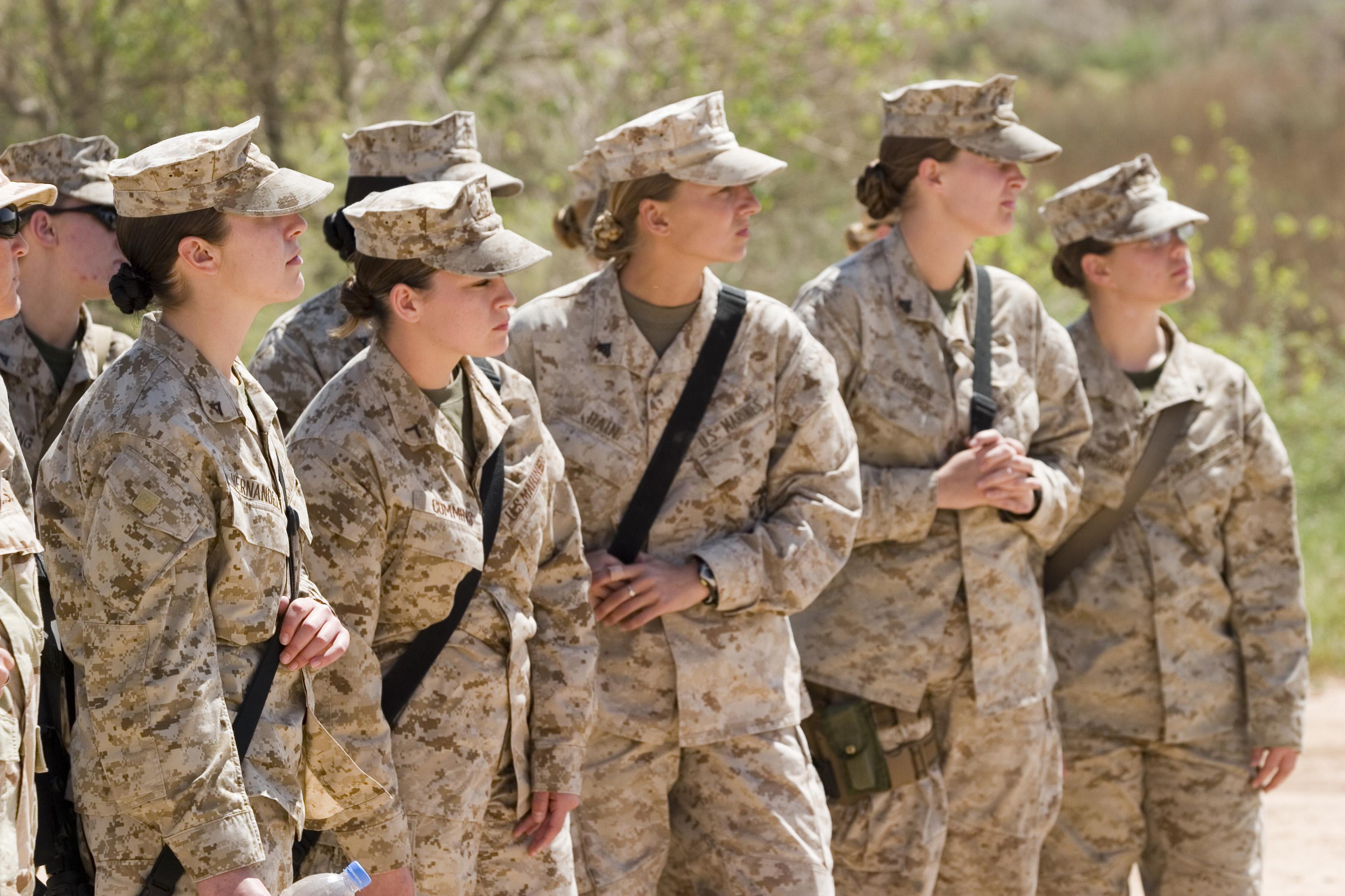 Women Prepare For Marine Combat Featured