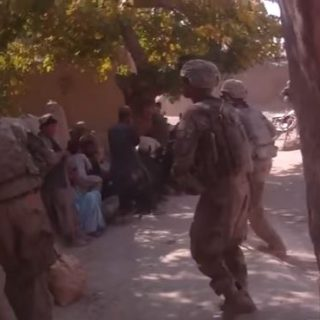 U.S. Army And Marines With Afghan Army