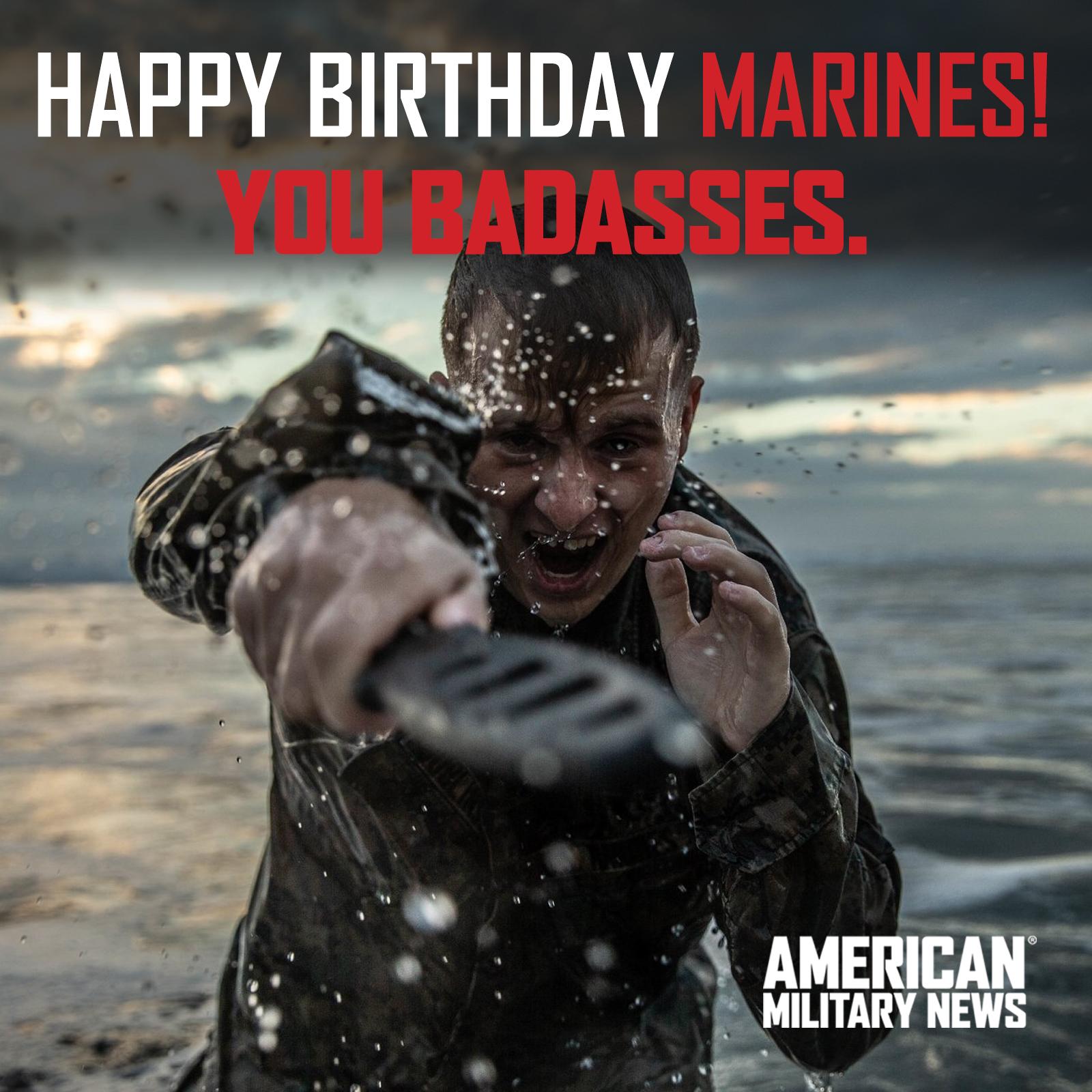 Happy Birthday U.S. Marine Corps