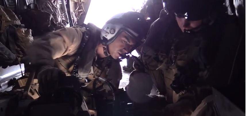 Watch Marine Tiltrotor Squadron Conduct An MV-22 Osprey Tail Gun Range Featured