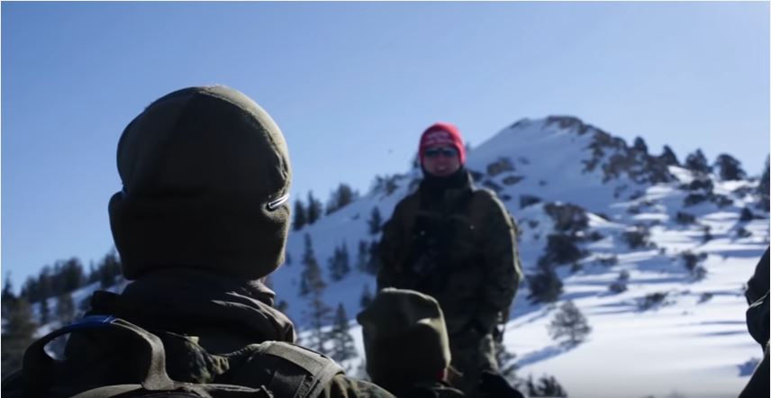 Marines In Mountain Training Center - Watch U.S. Marines Conduct Scenario-Driven Training At USMC Mountain Warfare Training Center