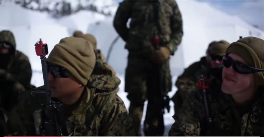 Watch U.S. Marines Conduct Scenario-Driven Training At USMC Mountain Warfare Training Center Featured