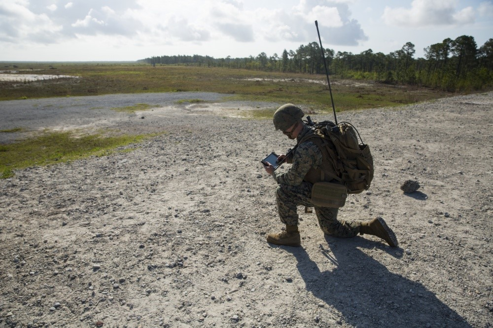 Handheld digital targeting system provides fire and air support to Marines | American Military News