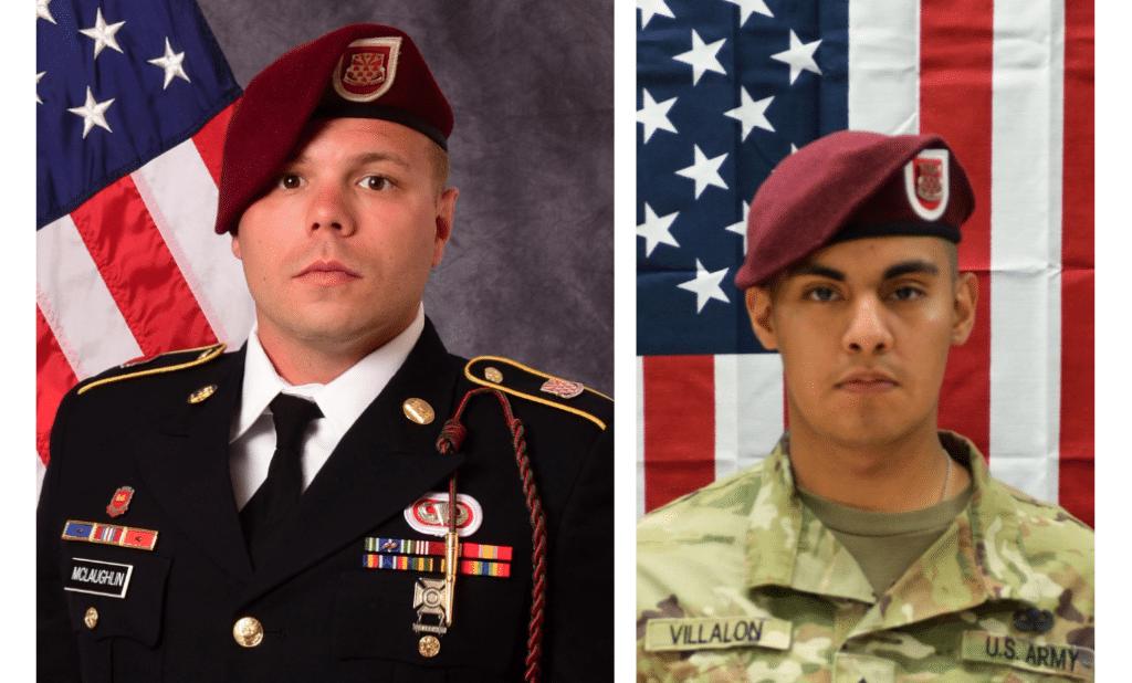 Pentagon identifies 82nd Airborne paratroopers killed in Afghanistan