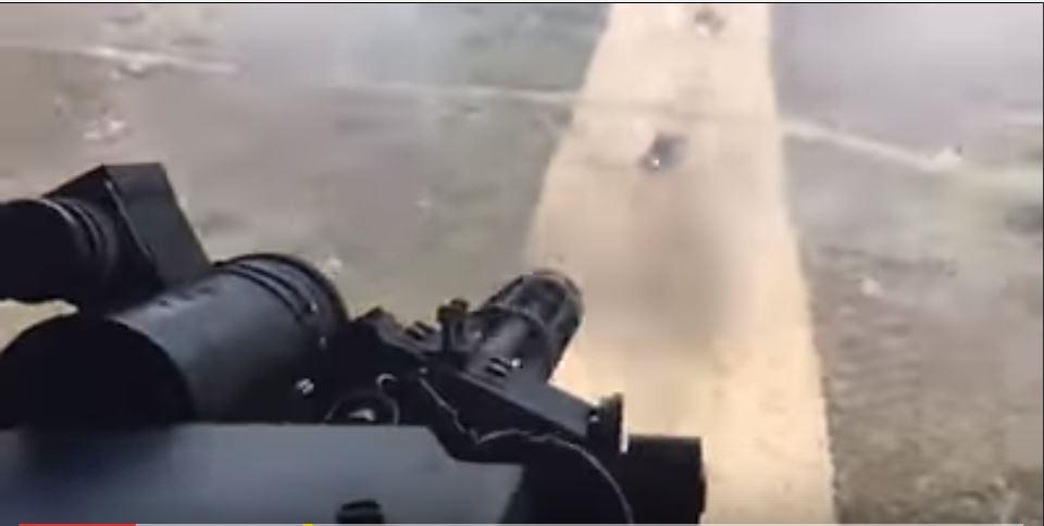 Watch The Stunning Polish M134G Minigun Shoot 4,000 Rounds Per Minute Featured