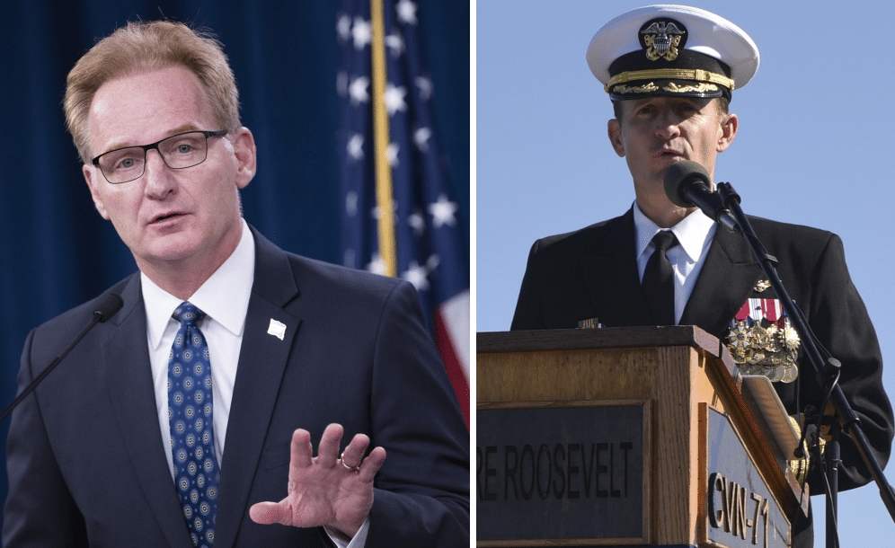 Leaked Audio: Crew heard saying 'what the f*ck' when Navy head called fired carrier captain 'stupid'