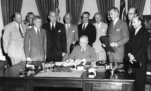 This Day In History: The NATO Pact Was Signed Featured