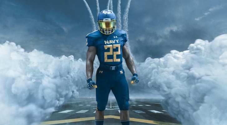 Army Navy Game 2017 Uniforms >> Navy unveils brand-new Blue Angels-inspired uniforms for Army-Navy game | American Military News
