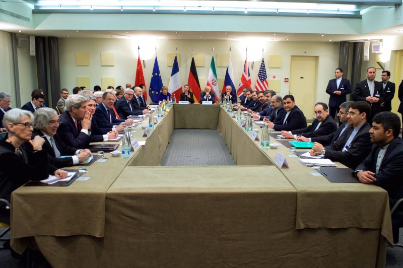 World Leaders Negotiating Iran Deal